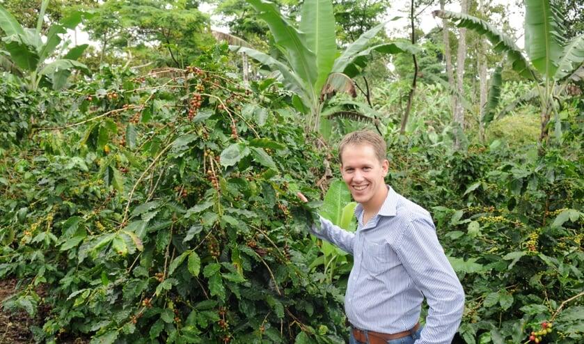 Paul Kaars van Kaars Koffie in Nicaragua.