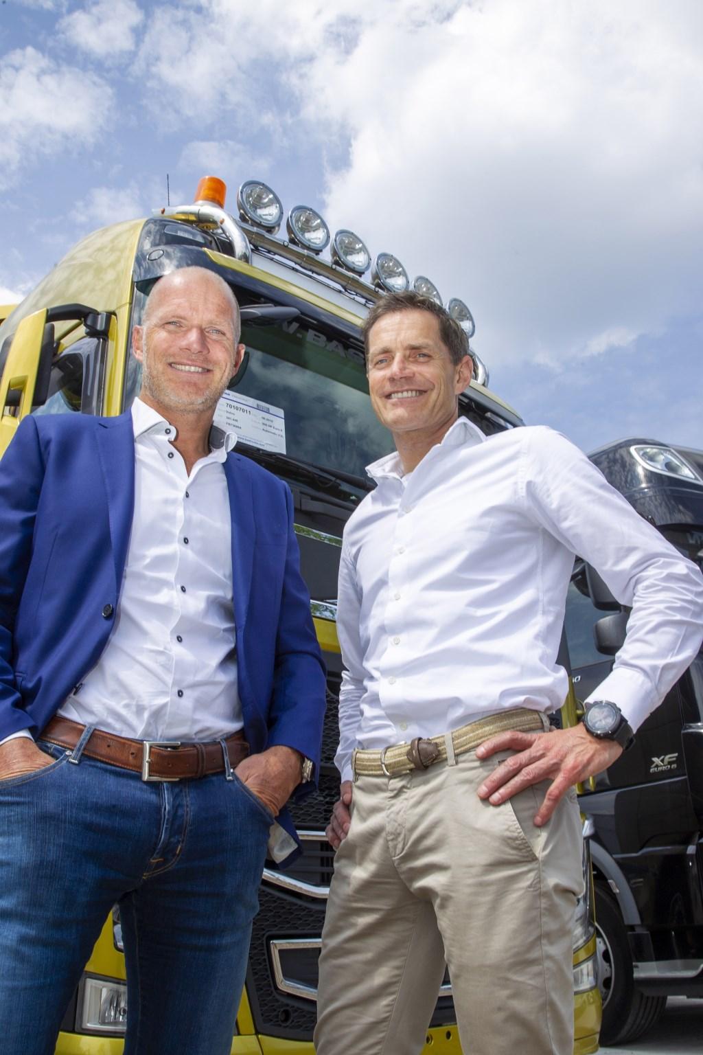 Caspar en Bas van Heertum.  Foto: Ad van de Graaf © Kliknieuws Veghel