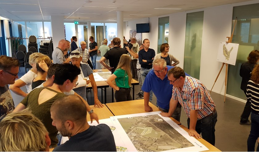Veel belangstelling voor nieuwbouwplan 'Molenheide Buiten'.