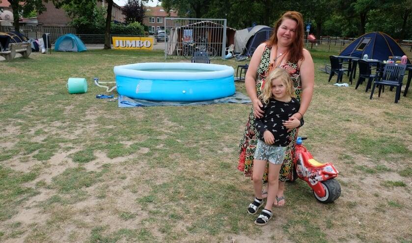 Cindy Wielders is de initiatiefnemer van de Buurtcamping Boxmeer.