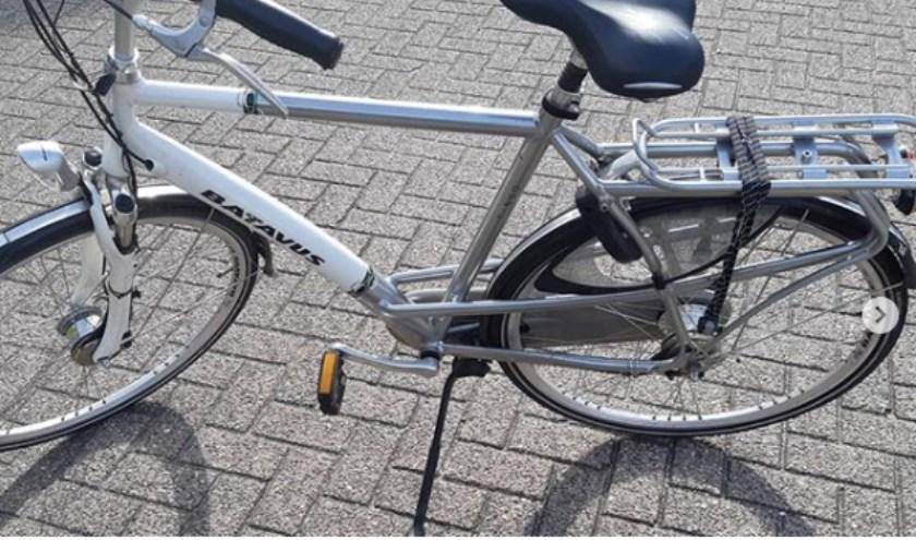 Eén van de fietsen. (Foto: Instagram wijkagenten Berghem)
