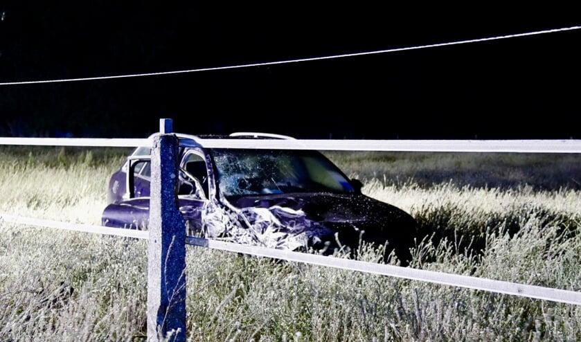 Drie gewonden bij ongeluk op de N271 bij Afferden.