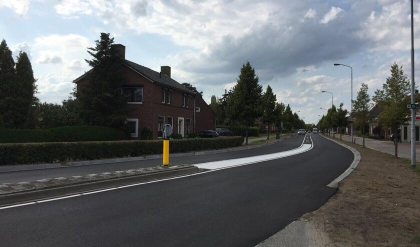 De reconstructie van de Molenstraat-Cuijkseweg in Oeffelt is afgerond.