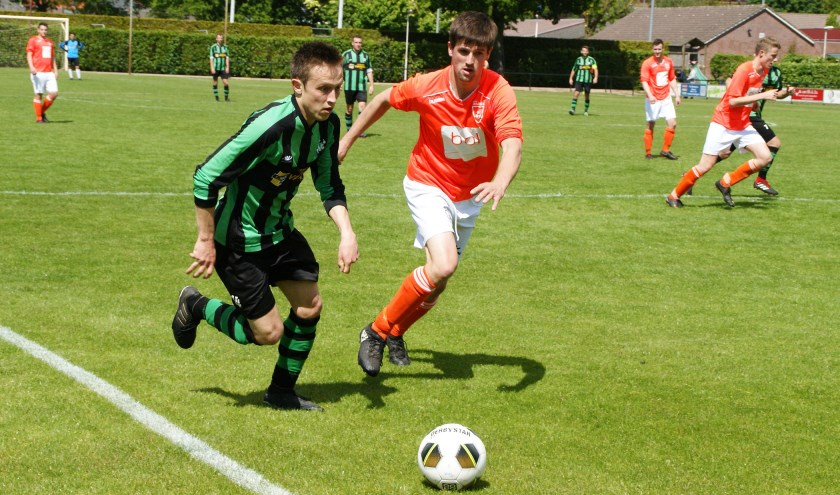 Uitslagen oefenprogramma. (archieffoto: Jeff Meijs/Voetbal-shoot.nl)