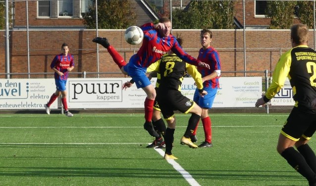 CVC deelt de tweede plek na winst op Sporting Leiden