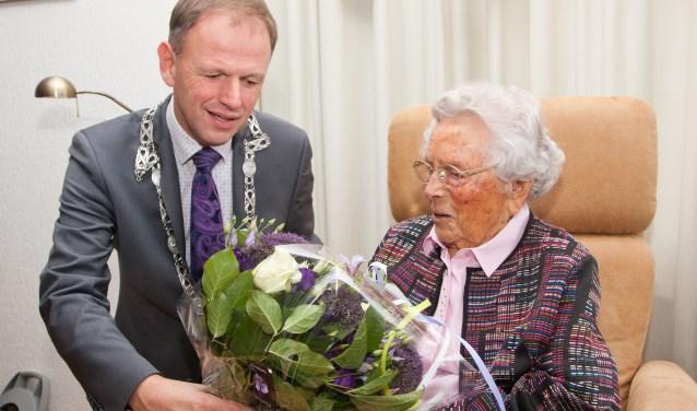 Vitale Bep Bontenbal Viert 100ste Verjaardag Kijk Op Bodegraven