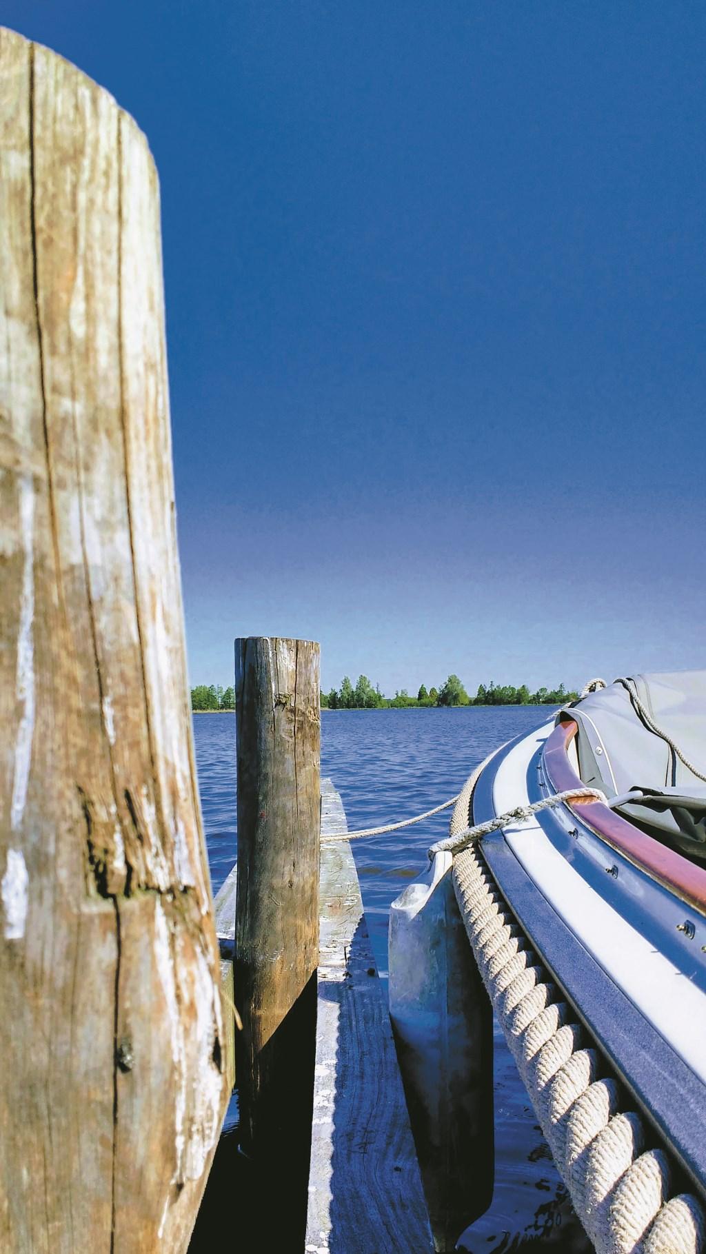 Vakantiedagje heel dichtbij huis, met de boot op de Elfhoevenplas.  Beeld: Monika Heinsbroek  © Graficelly B.V.