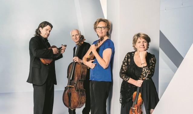 2014. Utrecht String Quartet.Photo: Allard Willemse