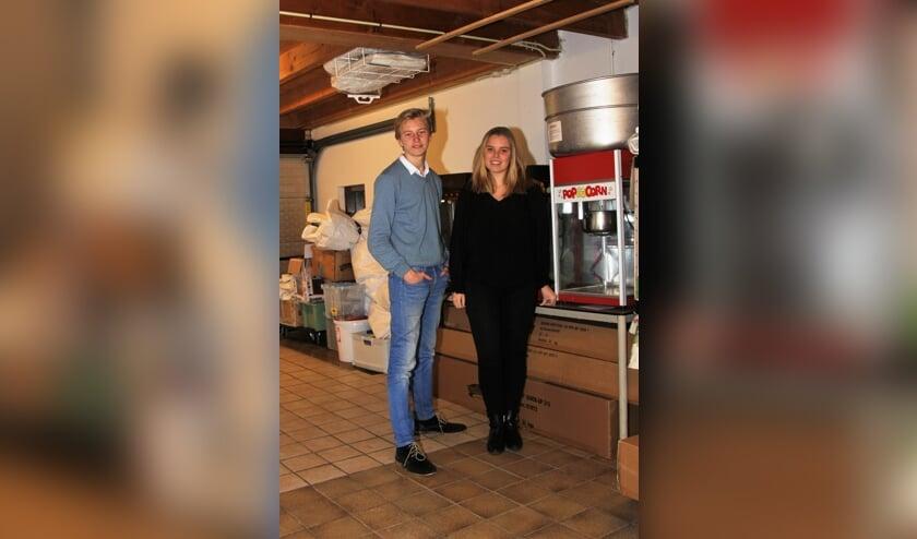 Tim en Fleur, jonge Reeuwijkse ondernemers