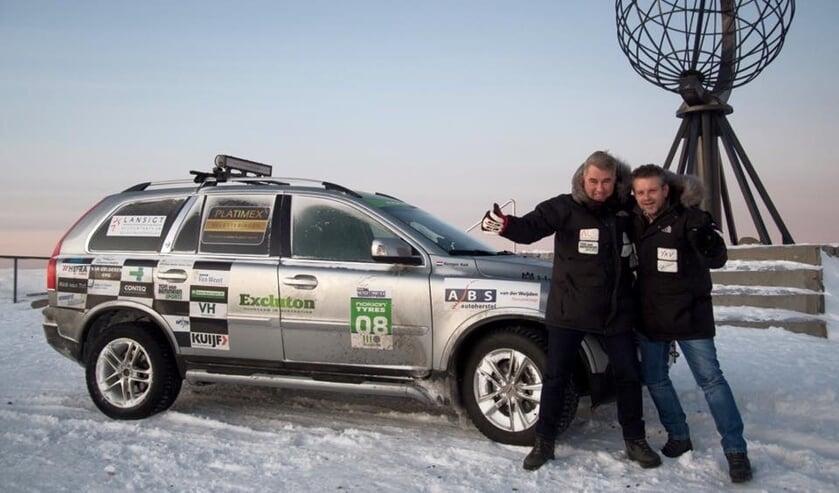 Hans den Bleker en Renger Kok tijdens een eerdere editie van Navigate North