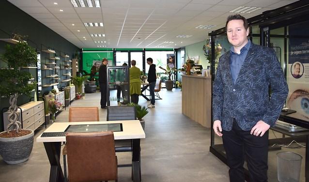 Maarten de Kruif opende op 1 maart zijn eigen optiekzaak