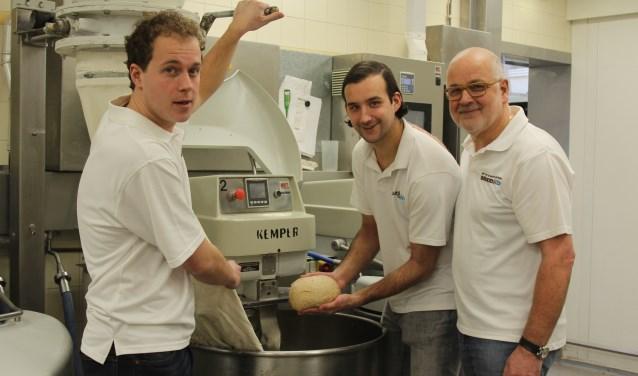 Twee generaties kwaliteitsbakkers in actie met Ko van Daalen en zijn zoons Stefan en Guido