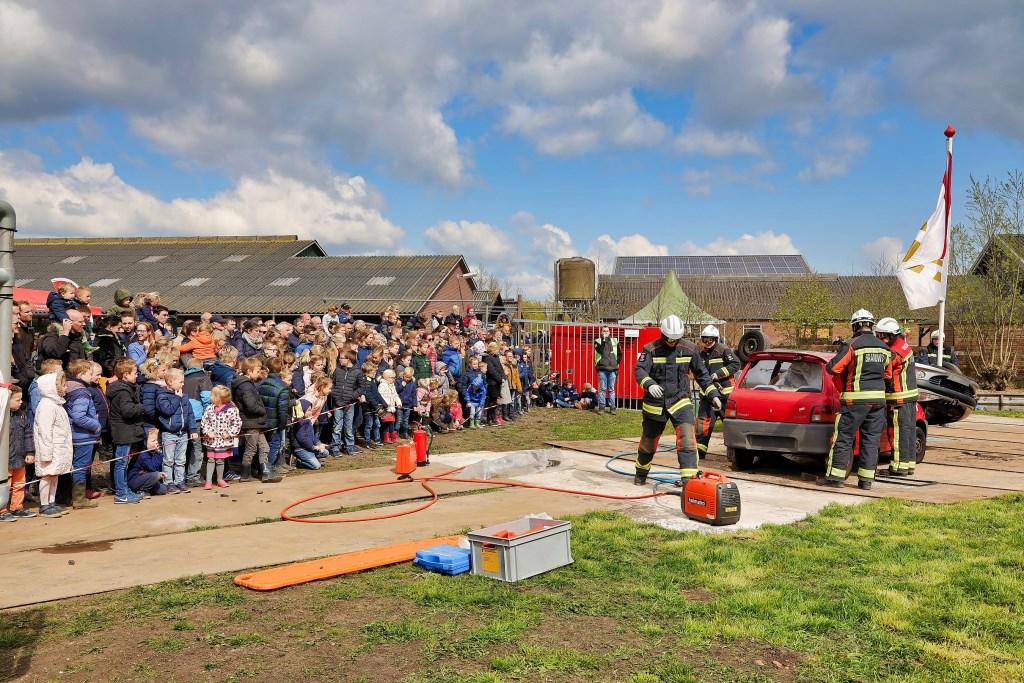 Brandweer demonstratie  © Graficelly B.V.