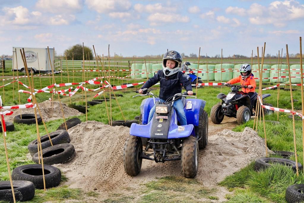 Spannend racen met zo'n quad  © Graficelly B.V.