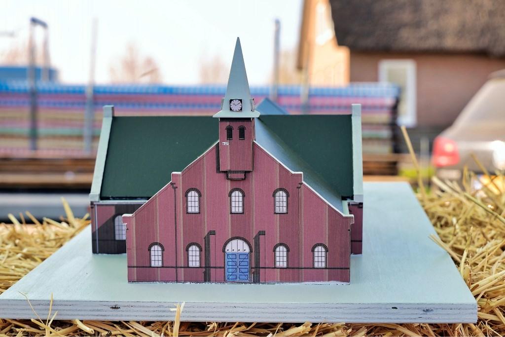 Het beoogde doel - de nieuwe kerk in Driebruggen