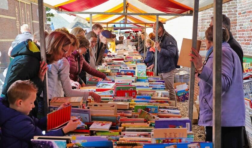 Het immense aanbod aan boeken