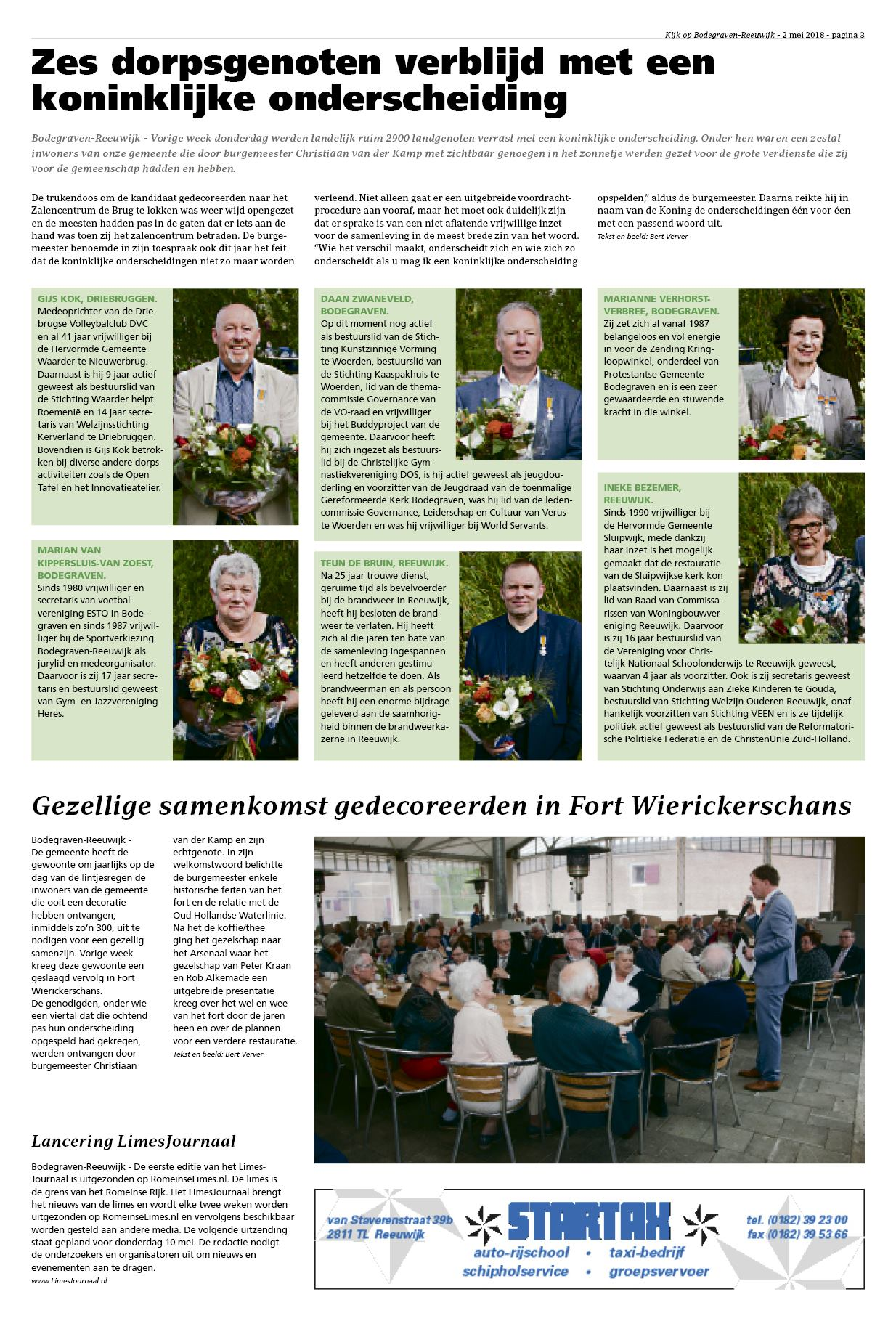 Kijk Op Bodegraven Reeuwijk 2 Mei 2018