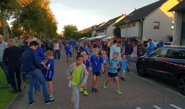 Vele Bergschenhoekse kinderen hebben weer heel wat meters gelopen voor het goede doel.