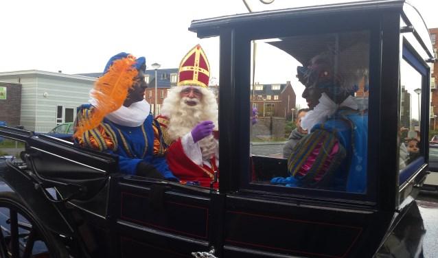 Sinterklaas komt zaterdag weer aan in Bergschenhoek.  (Foto: archief/Astrid Nielsen)