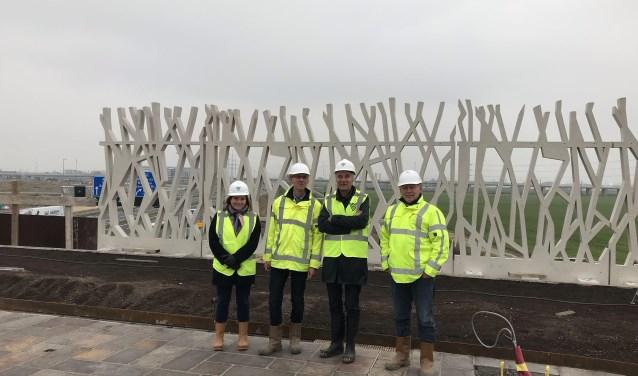 Fleur Kay, Dennis Dierikx, Jeroen van Schooten en René Weerheim zijn trots op het project.
