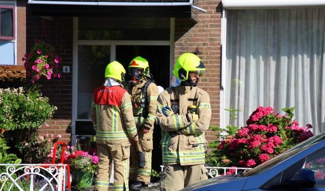 Niemand raakte bij de brand gewond.(Foto: Spa Media)