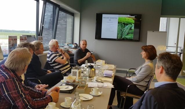 Onder andere Frans Ammerlaan en Matthijs Ruitenberg van CDA Lansingerland waren aanwezig tijdens het werkbezoek.