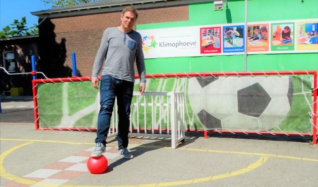 Voetballen speelde een grote rol in Richards leven.