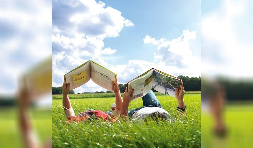 De bibliotheek wil kinderen stimuleren door te lezen tijdens de vakantie.