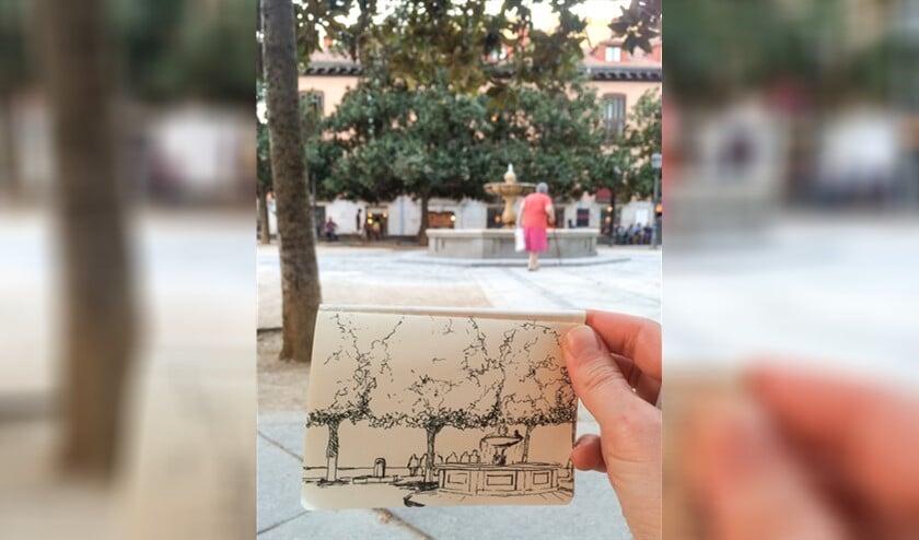 Wil je graag persoonlijke reisherinneringen vastleggen door middel van een tekening? Doe dan mee aan de tekenworkshop van de bibliotheek!
