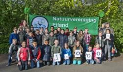 Groep 5 van OBS De Noord bracht de duizendste deelnemer voor de natuurstertochten