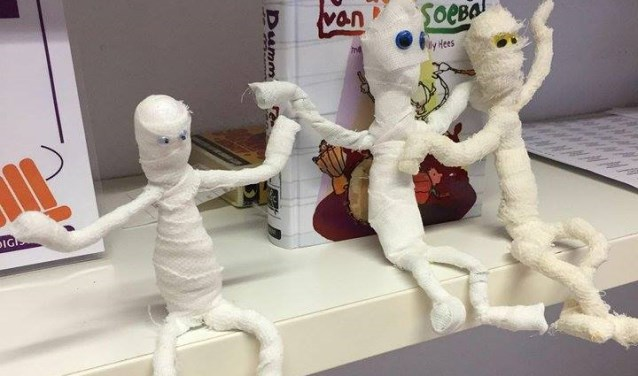 Mummie Leeft In Bibliotheek De Combinatie Ridderkerk