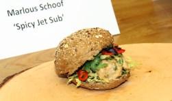 Spicy Jet Sub, een broodje boordevol pit waar je vleugels van krijgt!