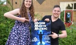 Evelien en Steven nodigen iedereen uit voor Movie Meets Music. Foto: Jan Stolk.