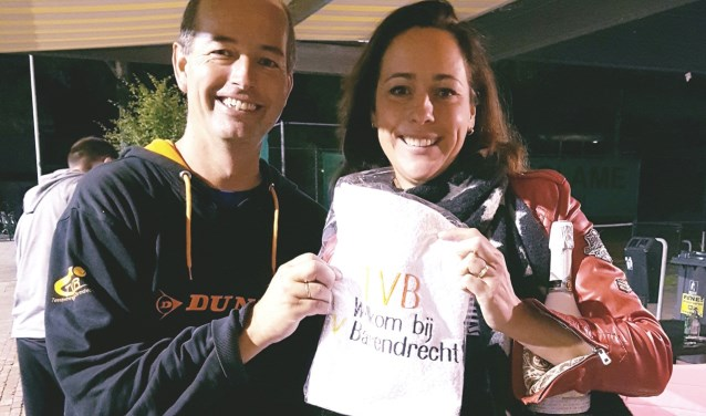 Jolanda Roestenburg: 800e lid van TVB.