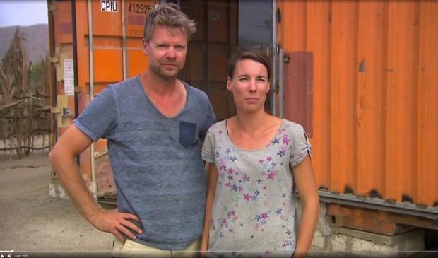 Ocke en Fleur Molenaar (screenshot 'Helemaal het einde')