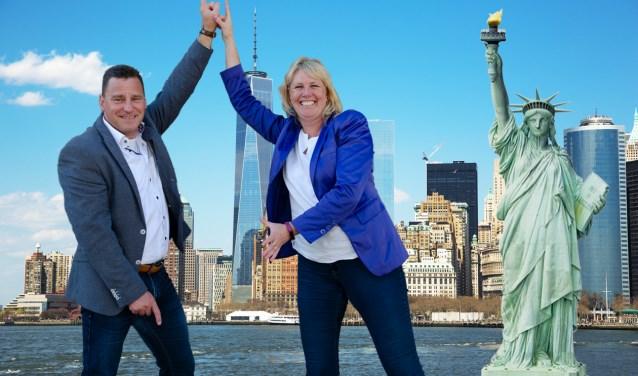 Remco en Sylvia Heeren geven met hun feestje een reis naar New York weg