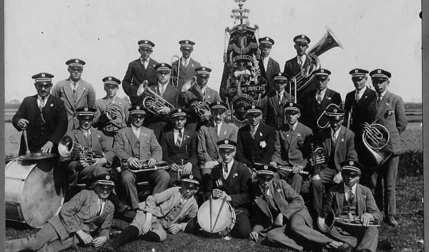 Groepsfoto rond 1928