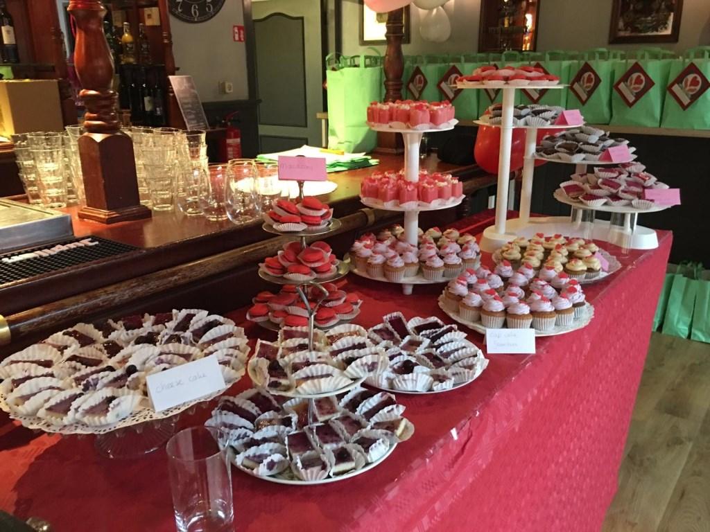 Er was een sweet table.   © Baruitgeverij
