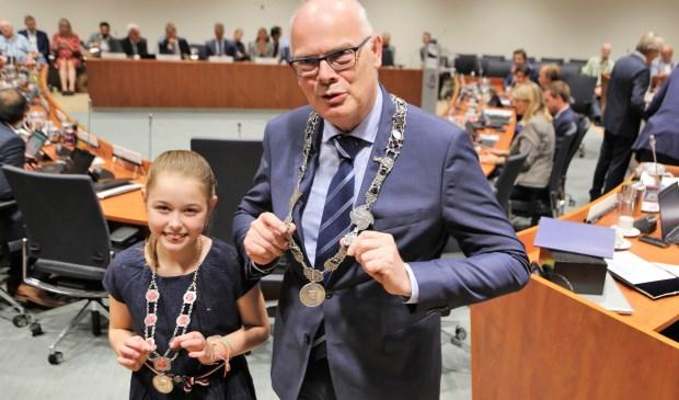 Barendrecht kreeg dit jaar een kinderburgemeester