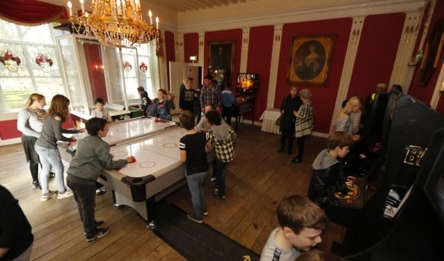 Kinderen konden zich uitleven met spellen. Foto: fotoSJORS
