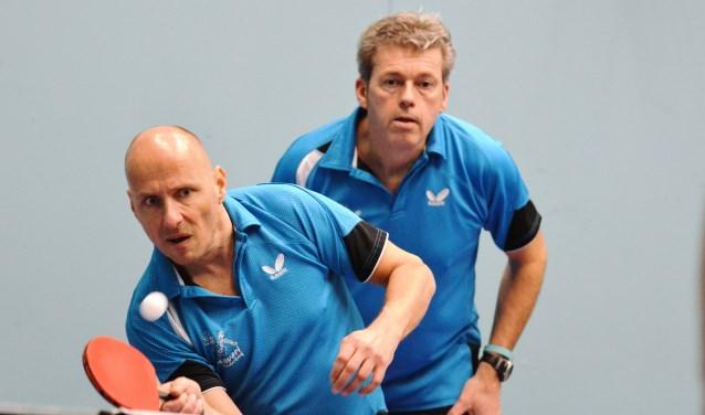 Patrick Weijers en Robert Beenen gingen in de dubbel onderuit