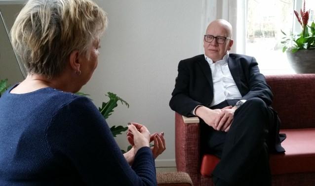 Hans Wagner en Winni Bruin kunnen uren over het hospice vertellen.