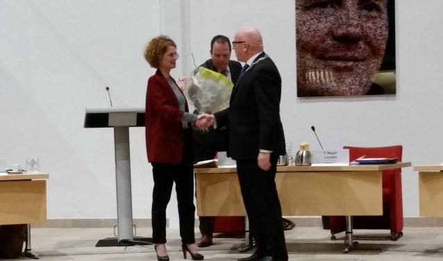 Stans Goudsmit werd beëdigd door burgemeester Wagner.