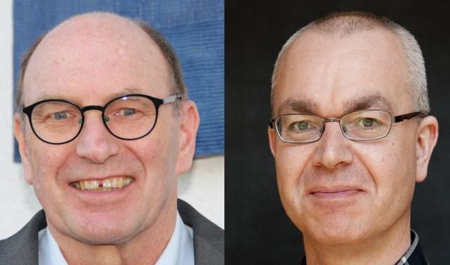 Oud-raadsleden Jan Jippes (VVD) en Jan Willem Dirkse (SGP/CU).