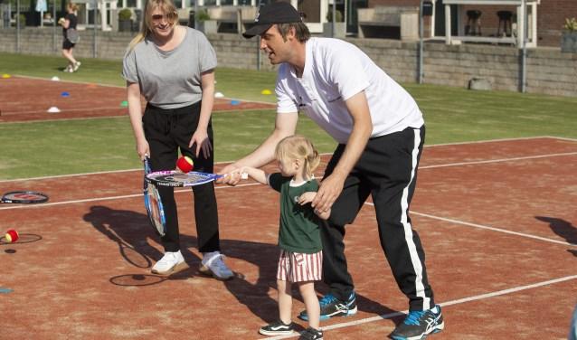 Leon Zuijdendorp miste de ouder-kindcombinatie in de tenniswereld.