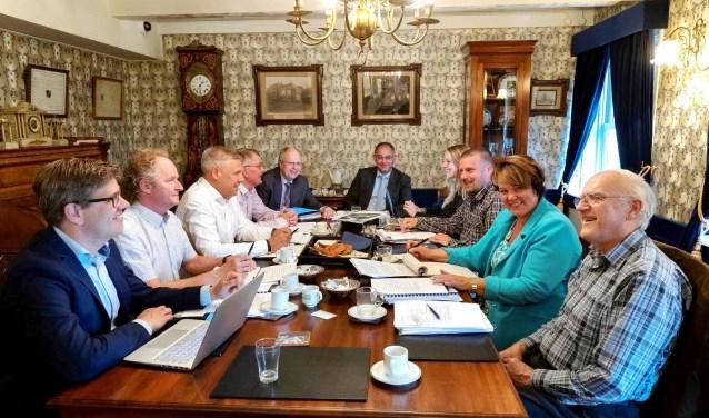 Onderhandelaars in de Regentenkamer