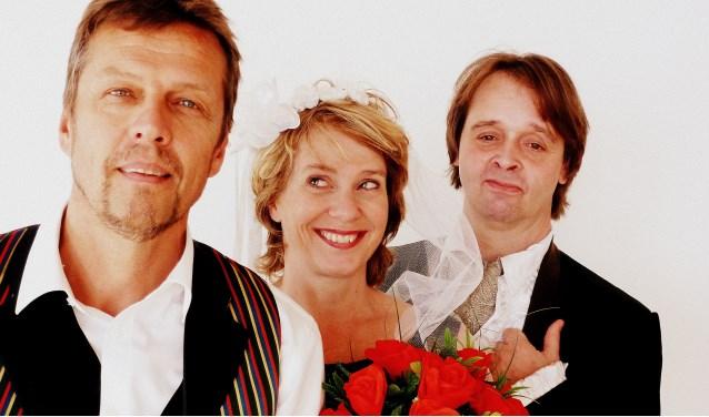 Kinderopera: Frans Fiselier, Johannette Zomer en Peter Lusse.