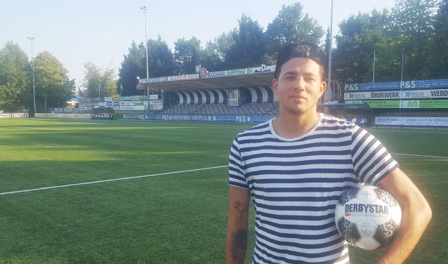 Brandon Könemann is terug op het Ridderkerkse sportpark