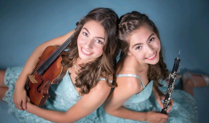 De zusjes Pedano zullen met Anastasiya Kurilko (piano) een verrassend concert geven.