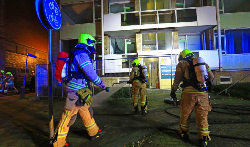 Foto Brandweer Ridderkerk